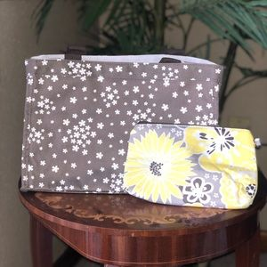NWT small tote with small pouch